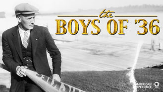 Netflix box art for American Experience: The Boys of '36